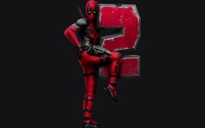 Picture Ryan Reynolds, Superheroes, Movie, Deadpool 2, Marvel Entertainment