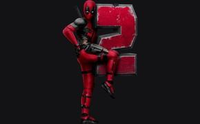 Wallpaper Ryan Reynolds, Superheroes, Movie, Deadpool 2, Marvel Entertainment
