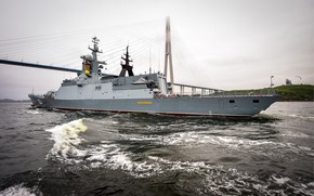 Picture Corvette, quick-witted, patrol ship