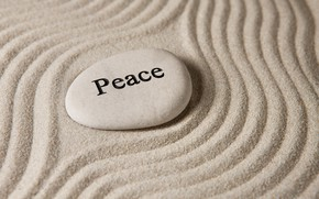 Picture sand, stones, peace, stone, sand, zen