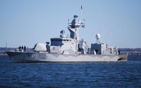 Picture corvette, K11, Hms Stockholm, Swedish Navy