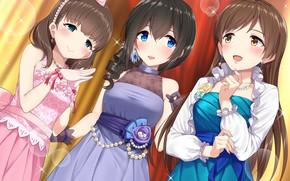Picture idolmaster cinderella girls, sakuma mayu, sagisawa fumika, nitta minami