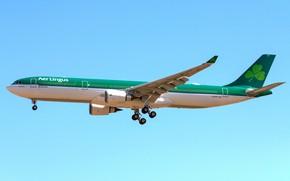 Picture Boeing, Airbus, A330, Irish Aer Lingus