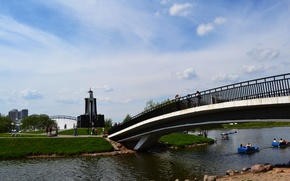 Picture summer, the city, Belarus, Minsk