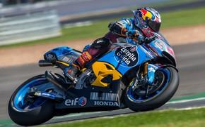 Wallpaper speed, racing, MotoGP, Honda, motorcycle, Motorsport, British Grand Prix Silverstone 2017, Jack Miller