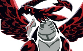 Picture red, game, anime, dragon, evil, asian, manga, king, japanese, Fairy Tail, oriental, asiatic, powerful, strong, …