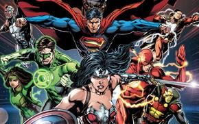 Picture Sword, Heroes, Costume, Superman, Comic, Heroes, Cloak, Wonder Woman, Superheroes, Shield, Green Lantern, Superman, Clark …