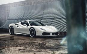 Picture design, style, car, Ferrari 488