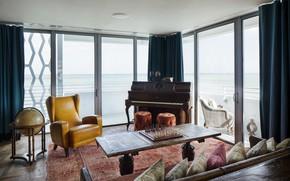 Picture interior, living room, Soho Beach House