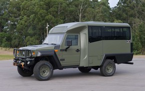 Picture made in Brazil, Agrale, military and civil vehicle, manufactured in Santa Catatarina, export type product, ...