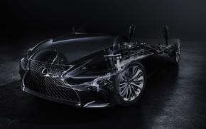 Picture car, Lexus, logo, Fifth-Generation Lexus LS, Lexus LS