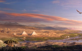 Picture Egypt, Ubisoft, Game, Assassin's Creed: Origins