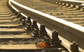 Picture background, sleepers, railroad