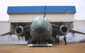Picture Brazil, FAB, Embraer, KC-390, developed and manufactured by Embraer Defesa e Seg, Embraer KC-390, Aircraft …
