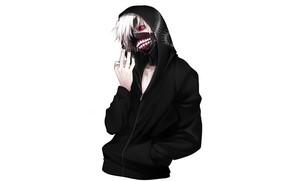 Picture mask, guy, Tokyo Ghoul, The Kaneko Ken, Vzglyad