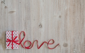Picture tape, red, love, wood, romantic, valentine's day, gift