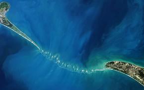 Wallpaper India, Sri Lanka, Adam Bridge, Islands, shoal, photo NASA