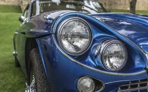 Wallpaper retro, lights, classic, Gran Turismo, Jensen C-V8 MKII, Jensen C-V8