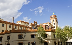 Picture The building, Spain, Barcelona, Spain, Building, Barselona