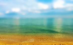 Picture sand, sea, summer, the sky