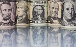 Picture Benjamin Franklin, George Washington, Abraham Lincoln, Ulysses S. Grant, Alexander Hamilton