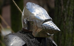 Picture armor, helmet, mail