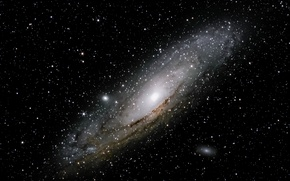 Picture space, The Andromeda Galaxy, the milky Way, The nearest