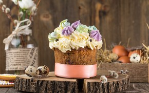 Picture decoration, Easter, Eggs, Holiday, cake, cakes