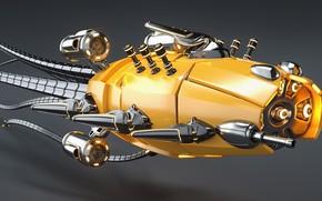 Picture design, camera, Modular Mech Squid