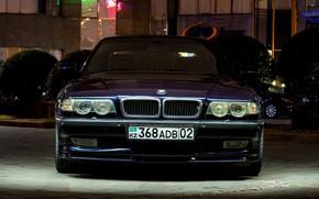 Picture BMW, Front, Alpina, E38, Almaty, 740Li