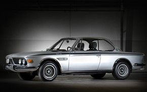 Picture Auto, Machine, Grey, BMW, Silver, Car, BMW 3.0 CSL, BMW 3.0, BMW 3.0 CSL (E9), …