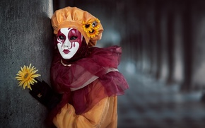 Picture carnival, Model, costume, The carnival of Venice