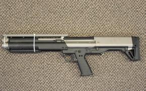 Picture gun, weapon, shotgun, Kel-Tec KSG, Kel-Tec, 12 gauge, KSG