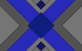 Picture triangles, figure, rhombus
