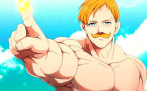 Picture anime, manga, chest, oriental, thorax, Nanatsu no Taizai, The Seven Deadly Sins, japonese