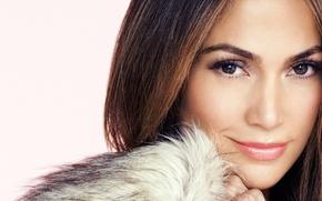 Picture portrait, actress, singer, Jennifer Lopez