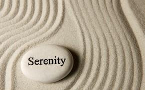 Picture sand, stones, stone, sand, serenity, zen