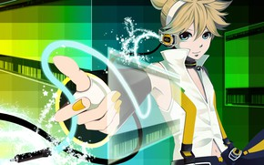 Picture look, music, anime, art, guy, Vocaloid, Vocaloid