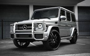 Picture Mercedes, wheels, AMG, G63, Forgiato