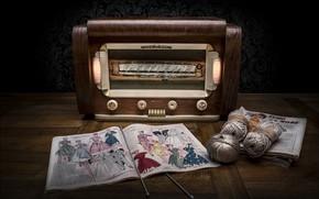 Picture spokes, journal, radio