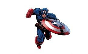 Wallpaper Captain America, Captain America, superhero