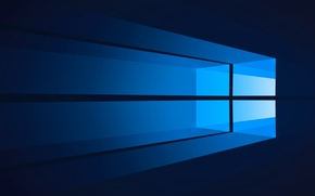 Picture computer, minimalism, window, windows, operating system