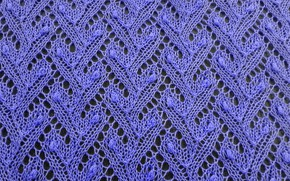 Picture background, color, texture, lilac thread, knitting, wool yarn, fishnet fabric