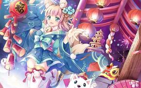 Picture girl, anime, art, Azur Lane
