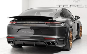 Picture Porsche, Panamera, GTR, rear view, 2018, Stingray, Ball Wed, Carbon Edition