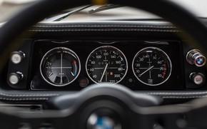 Picture Auto, Retro, BMW, Machine, Panel, Speedometer, BMW, Car, The wheel, 2002, Old, BMW 2002 Turbo, …