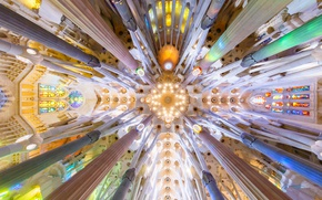Picture Spain, Barcelona, The Sagrada Familia