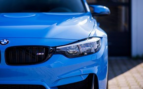 Picture BMW, Light, Blue, F82, Sight, LED