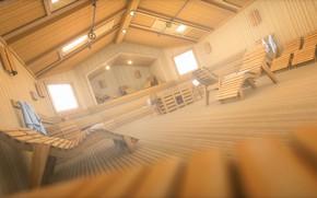 Picture design, bath, the room, sunbeds, Spa-Sauna