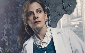 Picture the series, BBC, Sherlock, Sherlock, 2017, Louise Brealey, Molly Hooper, British actress and writer, Louise ...